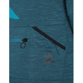 Zimtstern Laizy - Maillot manches longues Femme - Longsleeve Bleu pétrole